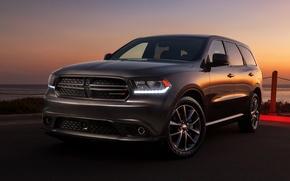Picture auto, sunset, Dodge, Dodge, Durango, Durango, R/T