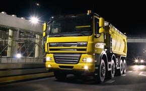 Picture Wallpaper, Wallpapers, Truck, DAF, DAF, ЦФ85, Dump truck, CF85