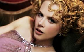 Picture decoration, face, blonde, Nicole Kidman