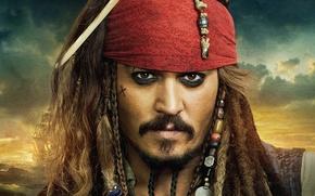 Wallpaper pirates of the Caribbean, on stranger tides, johnny Depp, Jack Sparrow