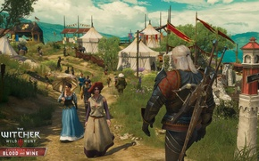 Picture the game, the Witcher, DLC, RPG, The Witcher 3: Wild Hunt, Supplement, The Witcher 3: ...