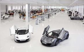Picture supercar, cars, auto, cars walls, Supercars, wallpapers auto, Wallpaper HD, Plant, McLaren MP4-12C