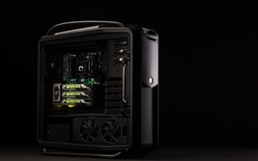 Picture computer, Nvidia, stylish, GeForce GTX Titan, powerful