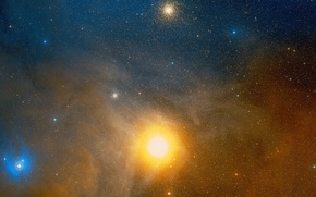Picture space, stars, Wallpaper, antares