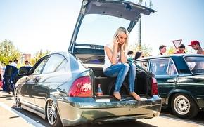 Picture machine, Auto, blonde, Lada, auto, Lada, Priora, VAZ, BPAN, Prior, Without Landing Auto No