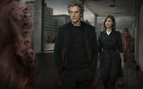 Picture girl, home, actress, actor, male, aliens, Doctor Who, aliens, Doctor Who, Peter Capaldi, Peter Capaldi, …