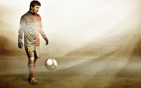 Wallpaper football, lionel messi, barcelona