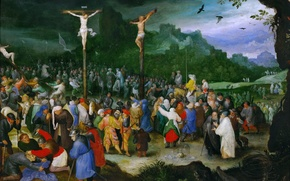 Picture picture, mythology, Jan Brueghel the elder, The crucifixion