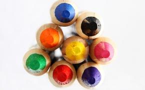 Picture paint, color, pencils, drawing, stylus