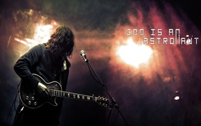 Picture guitar, rock, God is an astronaut, post-rock