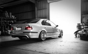 Picture BMW, sedan, tuning, 5 series, bmw m5, e39, rier
