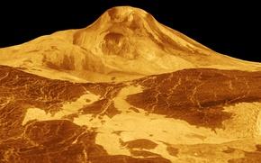 Picture photo, planet, mountain, Venus, NASA, Venus