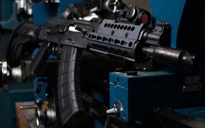 Picture weapons, machine, AK-47, Krinkov