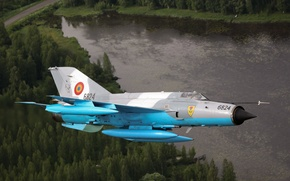 Picture The MiG-21, fighter, multipurpose