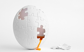 Picture background, egg, puzzle, Puzzlegg