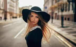 Picture Girl, Look, The wind, Hair, Beautiful, Panama, Irina Regent