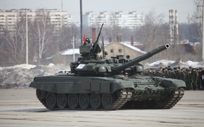 Picture Russia, Tank, T-90, Parade