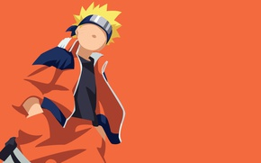 Picture game, Naruto, minimalism, anime, orange, ninja, hero, asian, manga, hokage, shinobi, japanese, Naruto Shippuden, Uzumaki …