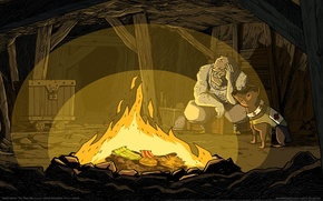 Picture fire, boxes, the fire, game wallpapers, medals, Valiant Hearts: The Great War