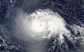 Picture spiral, the atmosphere, cyclone