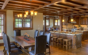 Picture design, wood, home, kitchen, dining room