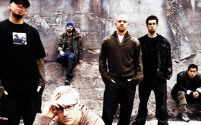 Picture Linkin park, music, music