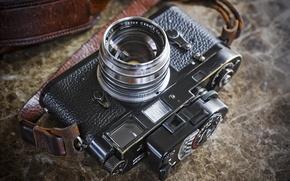 Picture macro, background, camera, Leica M2