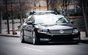 Wallpaper Auto, Road, Volkswagen, 2013, Passat