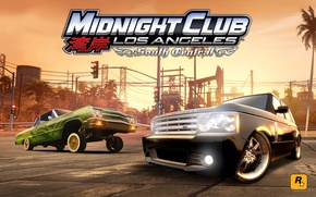 Picture lowrider, range rover, tuning, los angeles, chevrolet impala, stance, rockstar, midnight club
