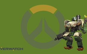 Picture Blizzard, Wallpaper, Game, Bastion, Overwatch