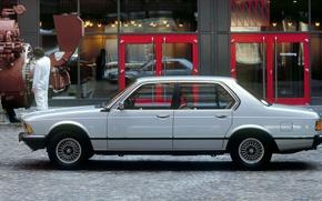 Picture retro, BMW, sedan, 7 seriesss