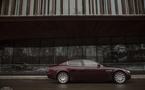 Wallpaper Alex Bazilev, side, Maserati, Quattroporte, photography, photographer, auto, Alexander Bazilev, machine, photographer, Alexander Bazylev