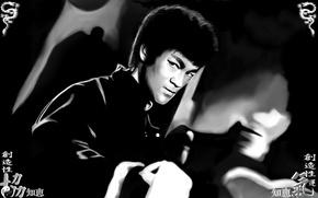 Picture memory, master, male, legend, Bruce Lee, bruce lee, martial arts, kung fu