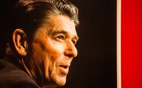 Picture face, actor, President, Ronald Reagan, Ronald Reagan