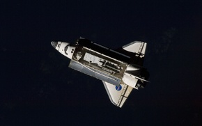 Picture Shuttle, space, Discovery, NASA, Shuttle, cargo, compartment, manipulator, reusable