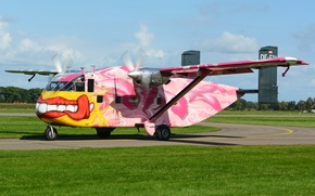 Picture easy, paint, transport, Short SC.7, Skyvan, the plane