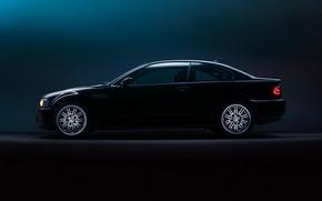 Picture BMW, BMW, profile, E46, profile