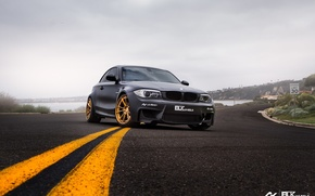 Picture bmw, turbo, black, tuning, power, race, germany