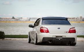Picture Subaru, Impreza, Ass, White, STI, White, JDM
