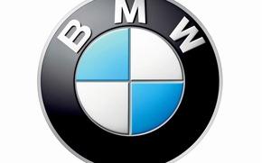 Picture Wallpaper, logo, emblem, propeller, sector, Bayerische Motoren Werke