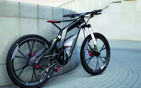 Picture bike, audi, carbon, bicycle
