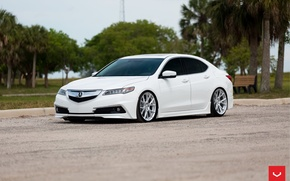 Picture Acura, Silver, Vossen Wheels, TLX, VFS-6, 42877