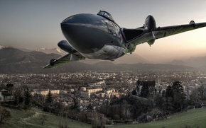Picture aviation, weapons, the plane