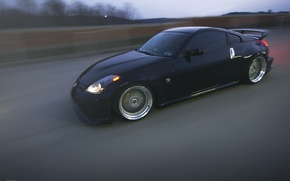 Picture speed, Nissan, Nissan, 350z, Tuning, nismo, Stance