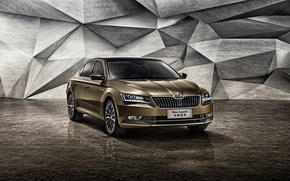 Wallpaper Skoda, Skoda, Superb, superb