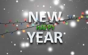 Picture lights, holiday, new year, new year, 2013
