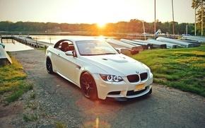 Picture water, BMW, white, E92