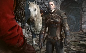 Picture sword, beard, the Witcher, Geralt, geralt, CD Projekt RED, The Witcher 3: Wild Hunt, The ...