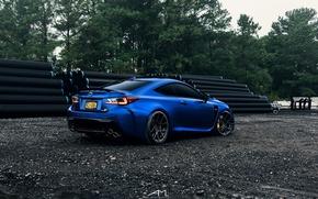 Picture lexus, blue, Lexus, rc
