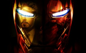 Picture helmet, Iron man, iron man, Marvel Comics, tony stark